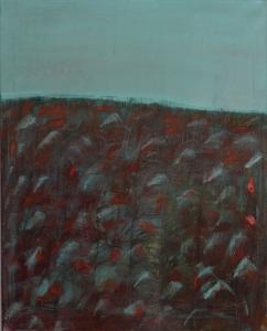 Ophelia, Acryl-Öl auf Leinwand, 80x100