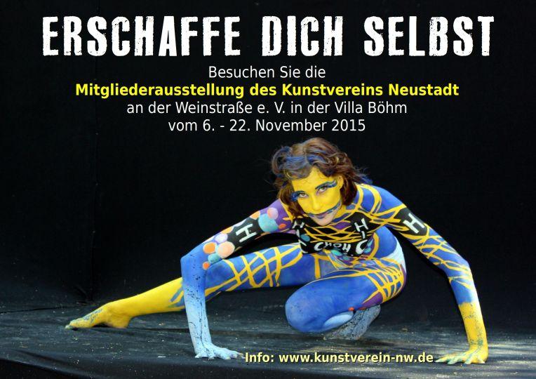 Kunstverein Neustadt 2015 Mitgliederausstellung